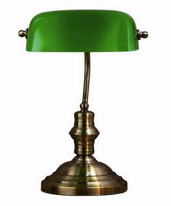 Startsida / Lampor / Bordslampor / Bankers bordslampa stor